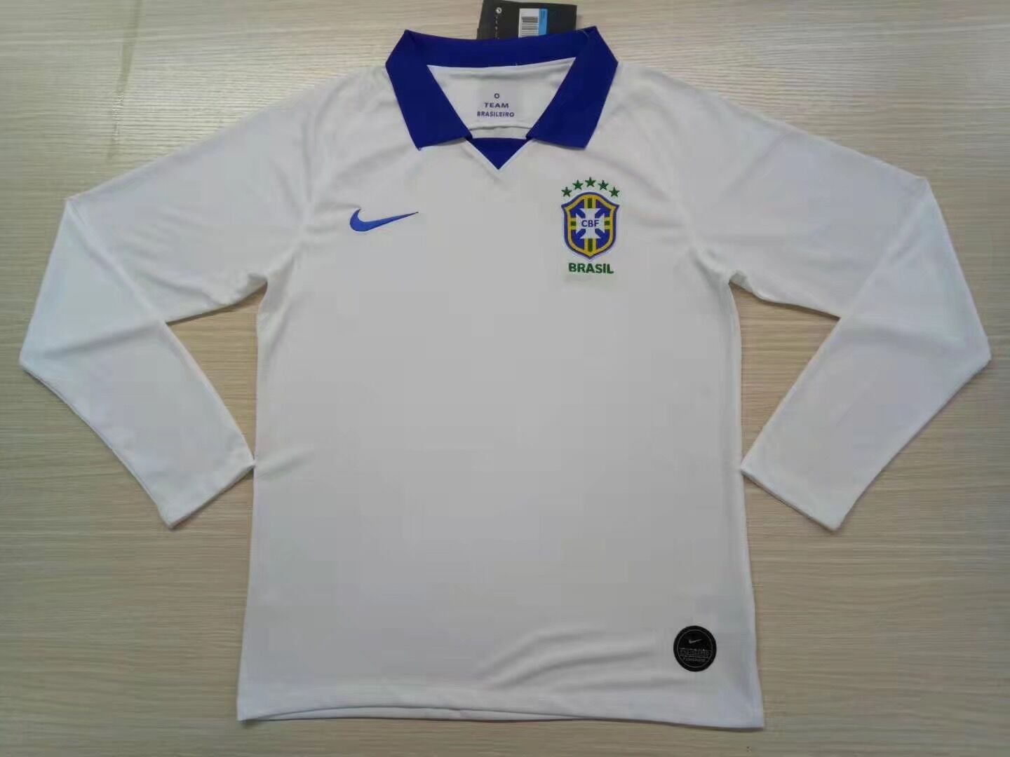 AAA Quality Brazil 19/20 Away White Long Soccer Jersey