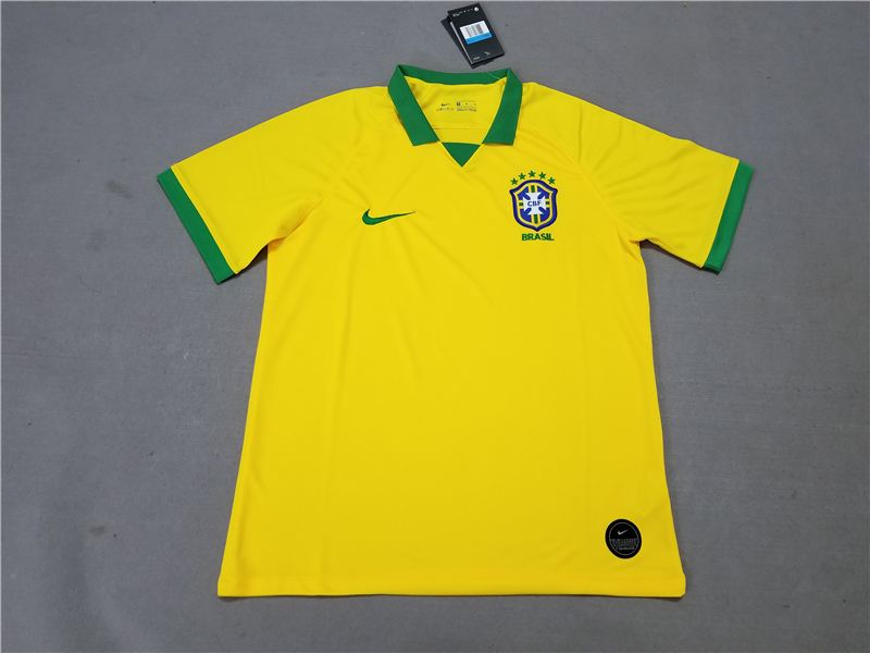 AAA Quality Brazil 19/20 Home Soccer Jersey