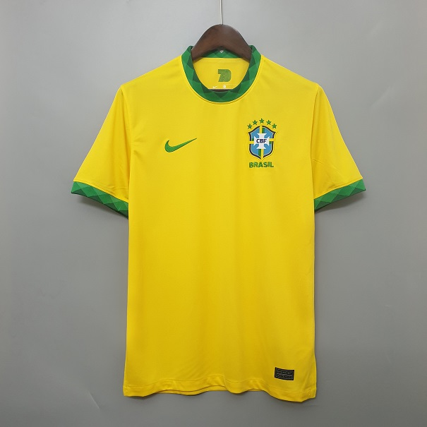 AAA Quality Brazil 20/21 Home Soccer Jersey