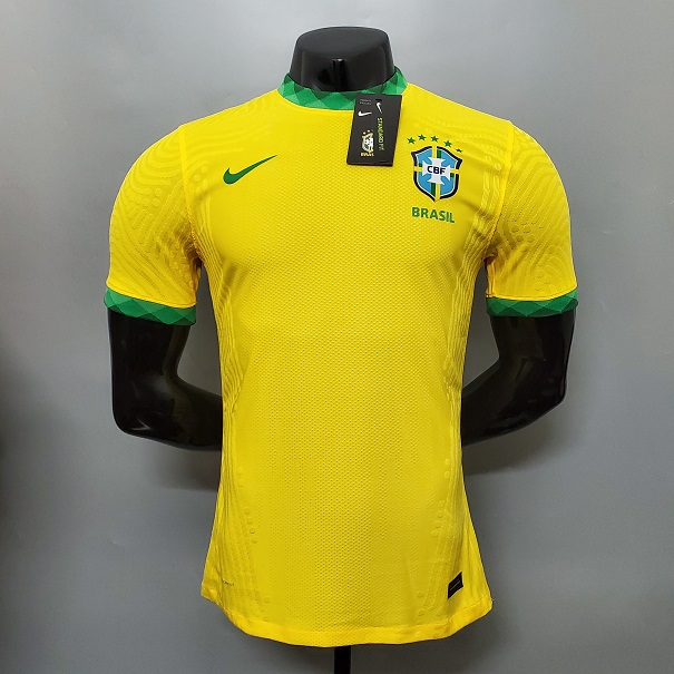AAA Quality Brazil 20/21 Home Soccer Jersey(Player)