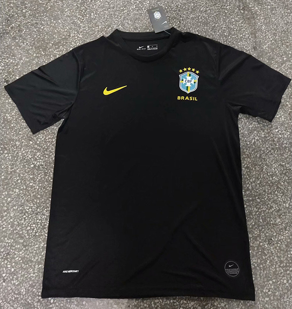 AAA Quality Brazil 20/21 Black Training Jersey