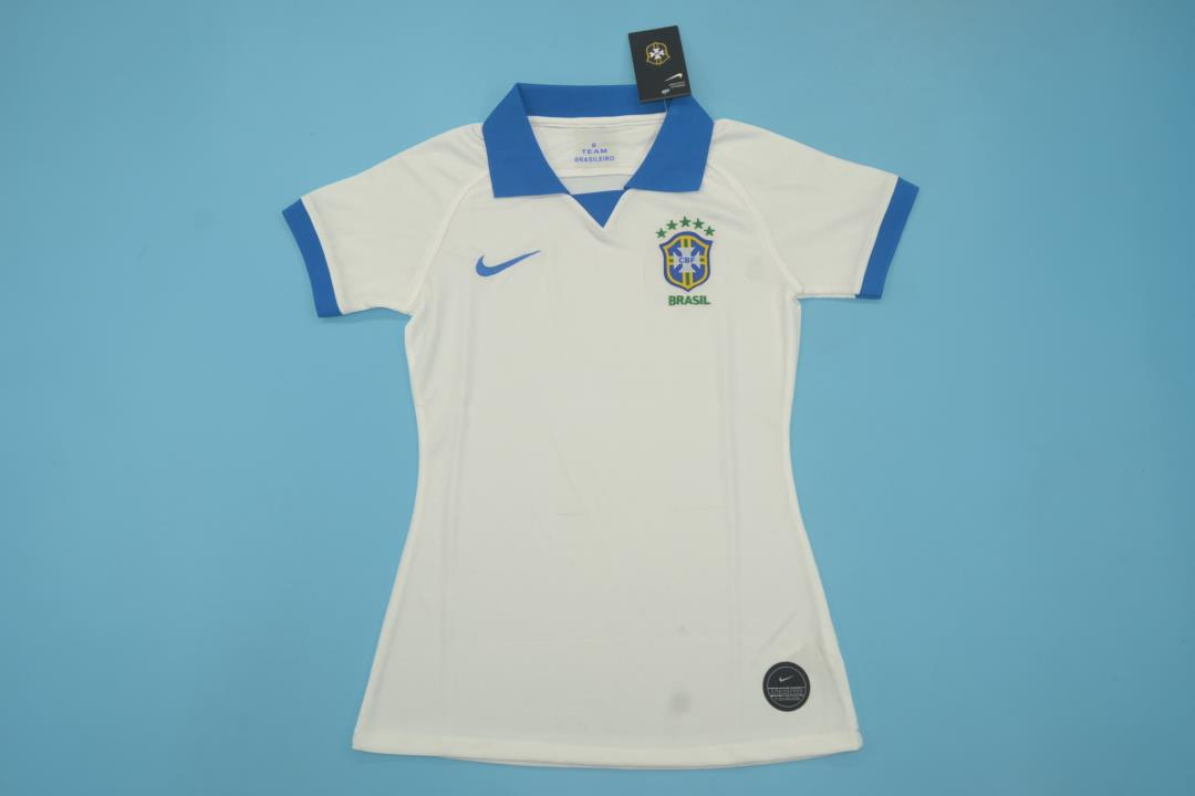 AAA Quality Brazil Woman 19/20 Away White Soccer Jersey