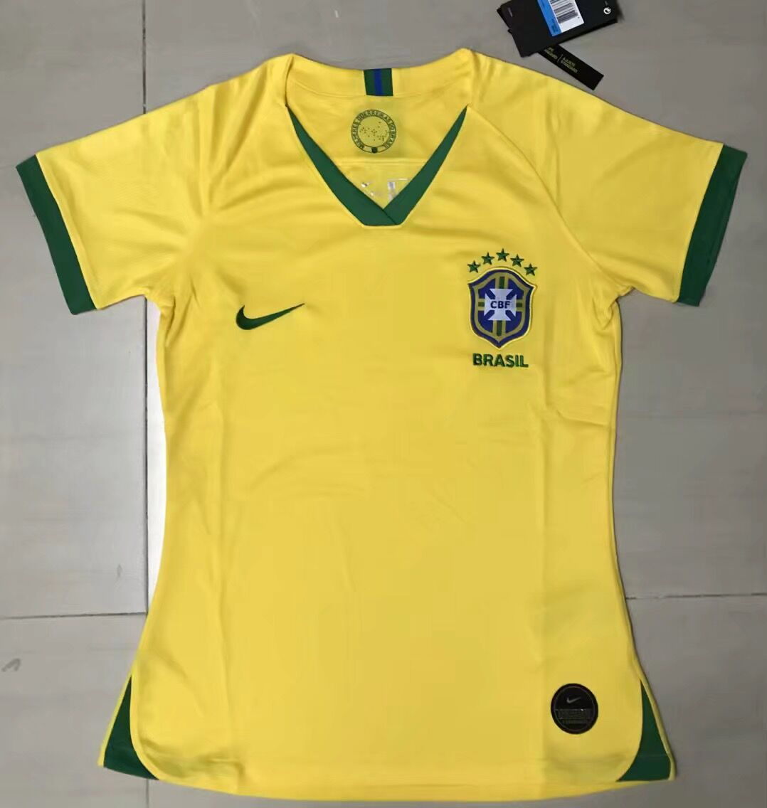AAA Quality Brazil Woman 20/21 Home Soccer Jersey