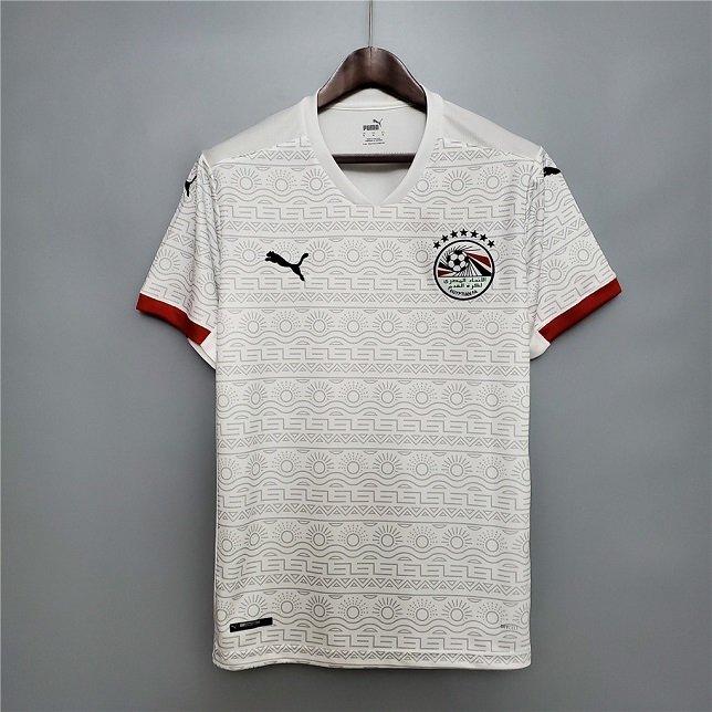 AAA Quality Egypt 20/21 Away White Soccer Jersey