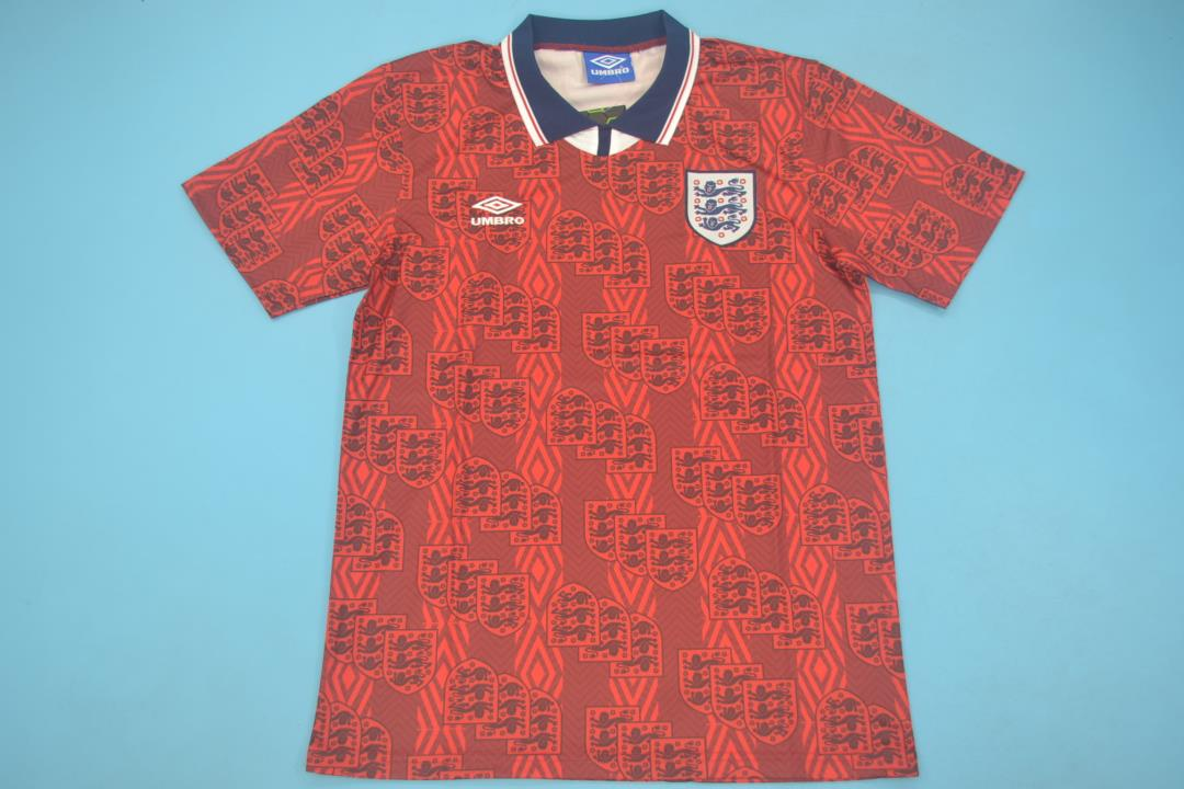 AAA Quality England 1994 World Cup Away Soccer Jersey