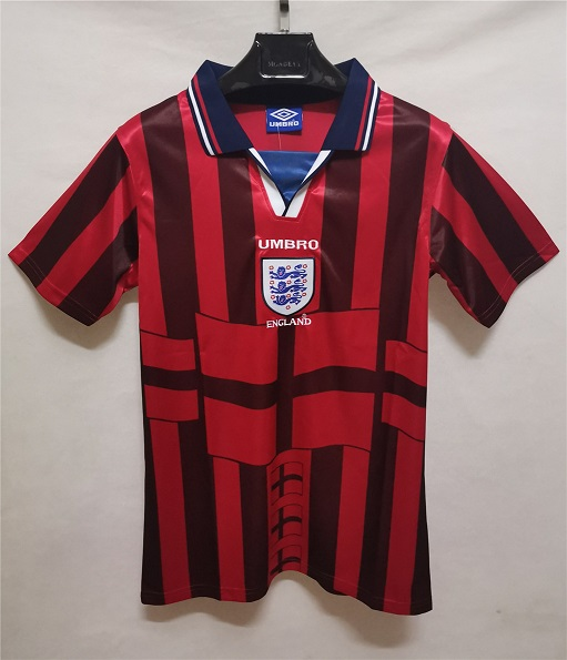 AAA Quality England 1998 World Cup Away Soccer Jersey
