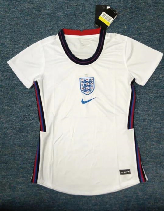 AAA Quality England Woman 2020 European Cup Home Jersey