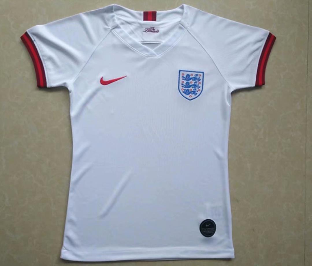 AAA Quality England Woman 19/20 Home Soccer Jersey