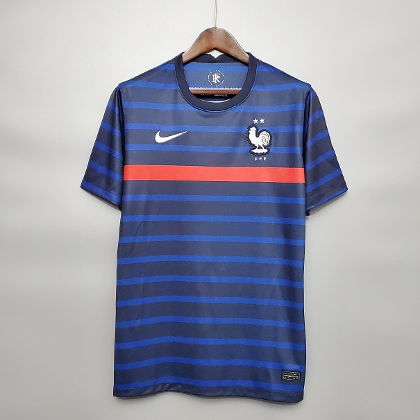 AAA Quality France 2020 European Cup Home Soccer Jersey