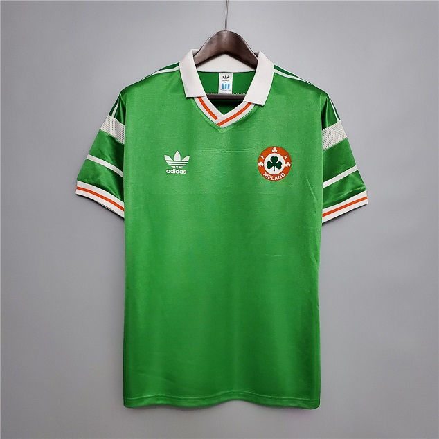 AAA Quality Ireland 88/90 Home Soccer Jersey