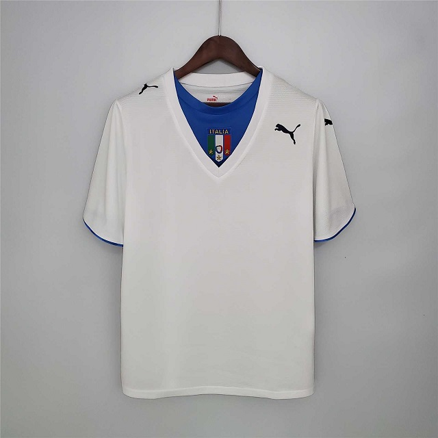 AAA Quality Italy 2006 World Cup Away Soccer Jersey
