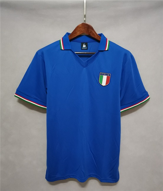 AAA Quality Italy 1982 World Cup Home Soccer Jersey