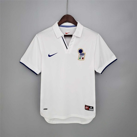 AAA Quality Italy 1998 World Cup Away Soccer Jersey