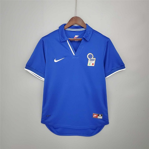 AAA Quality Italy 1998 World Cup Home Soccer Jersey