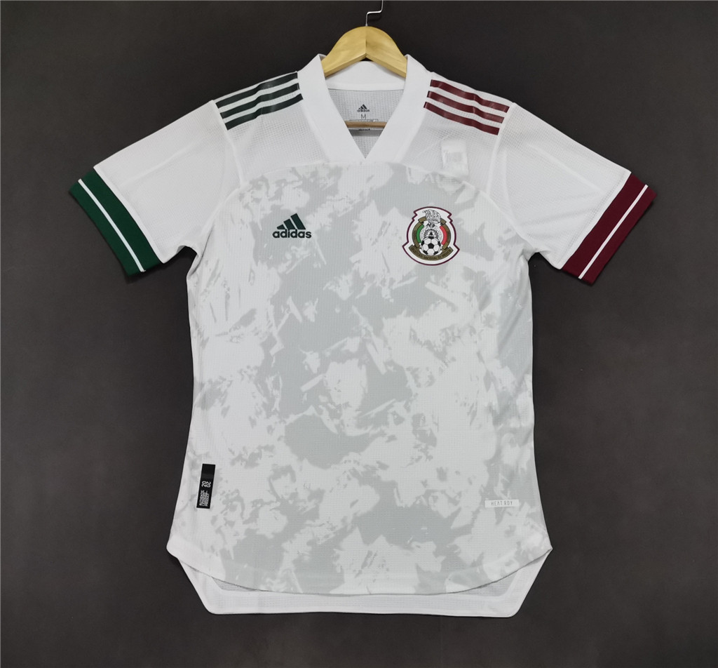 AAA Quality Mexico 19/20 Away White Soccer Jersey(Player)