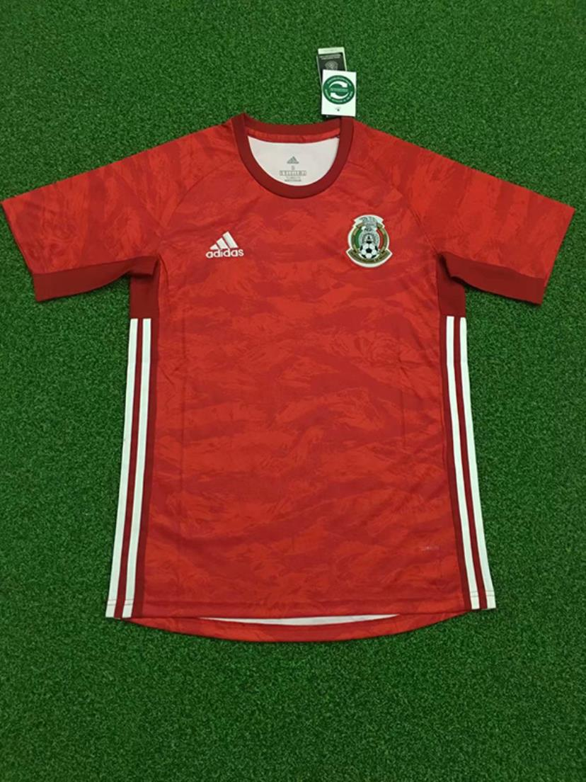 AAA Quality Mexico 19/20 GK Red Soccer Jersey