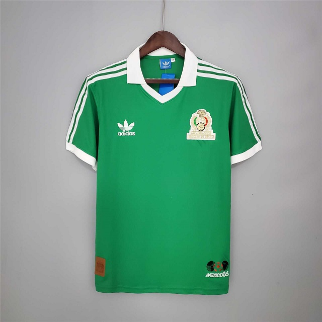 AAA Quality Mexico 1986 World Cup Home Soccer Jersey
