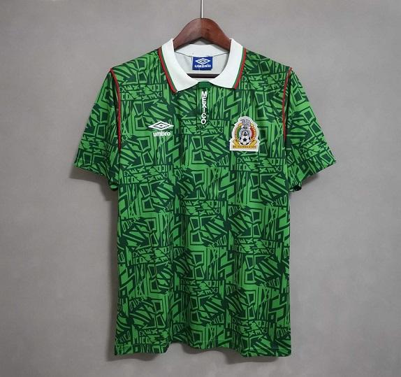 AAA Quality Mexico 1994 World Cup Home Soccer Jersey