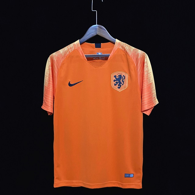 AAA Quality Netherlands 2018 World Cup Home Soccer Jersey