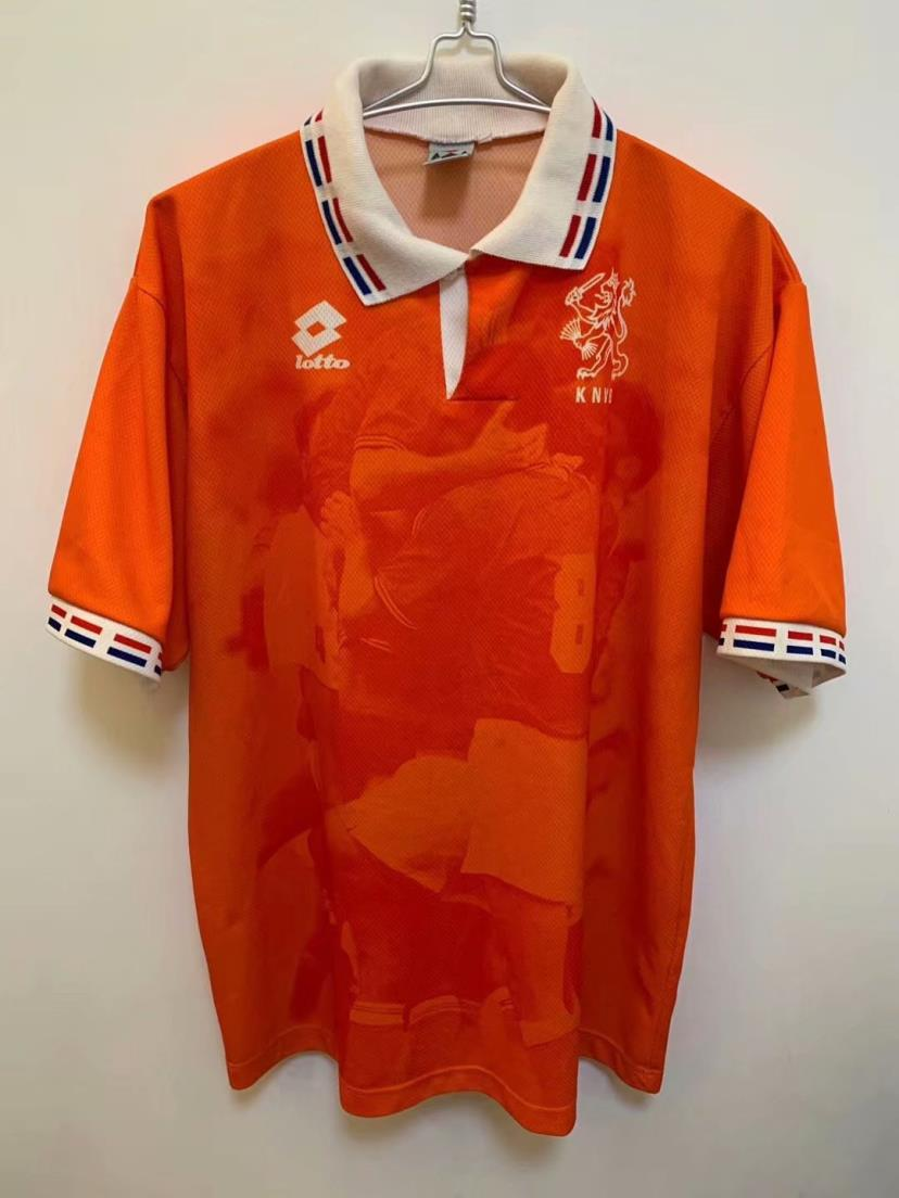 AAA Quality Netherlands 1996 Home Soccer Jersey