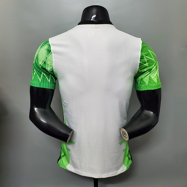 AAA Quality Nigeria 20/21 Home Soccer Jersey(Player)