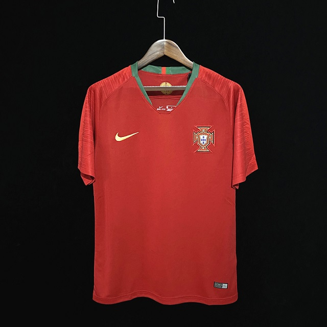 AAA Quality Portugal 2018 World Cup Home Soccer Jersey