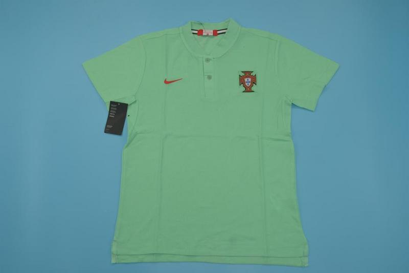 AAA Quality Portugal 18/19 Green Polo shirts