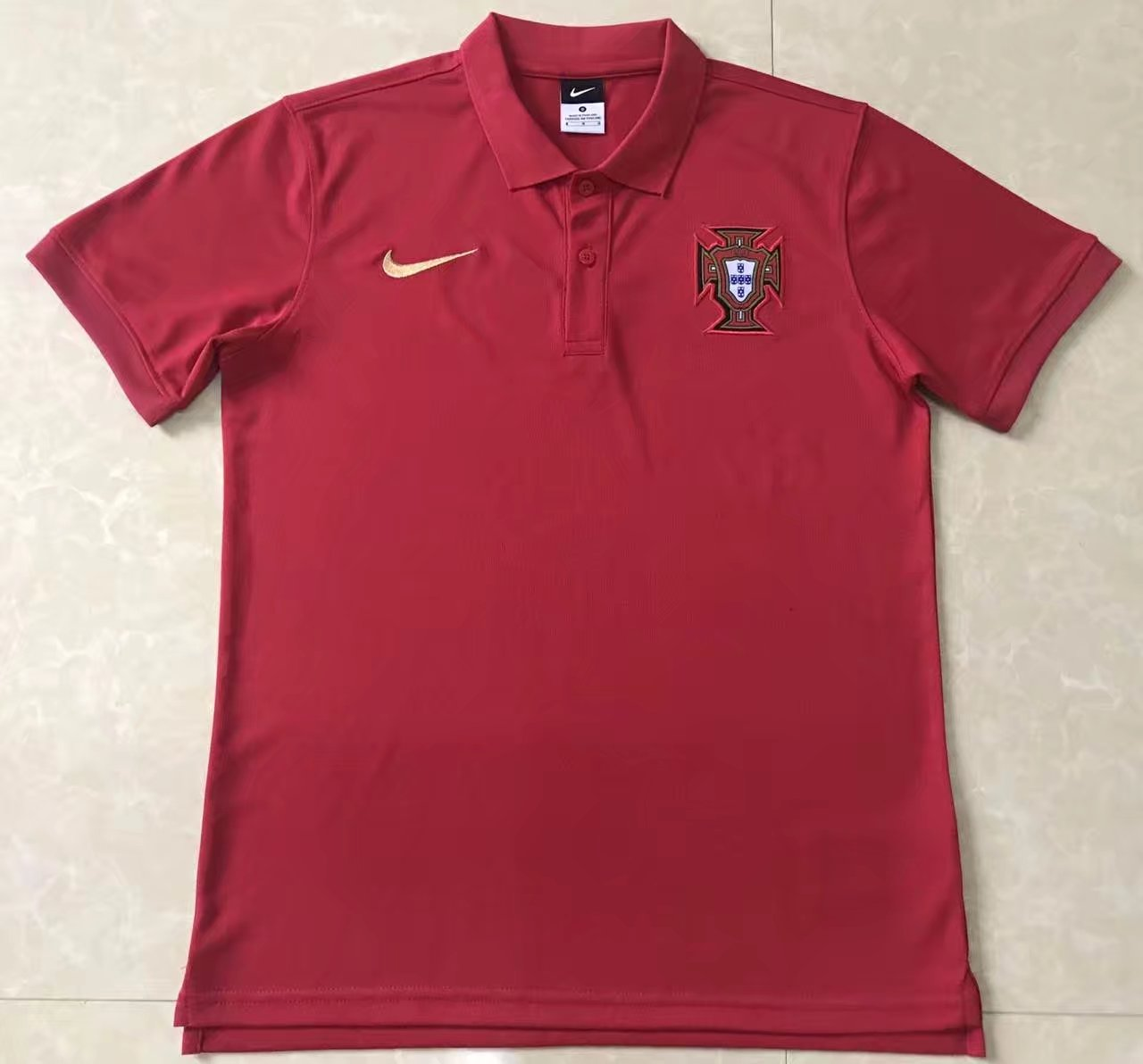 AAA Quality Portugal 2018 Red Polo shirts