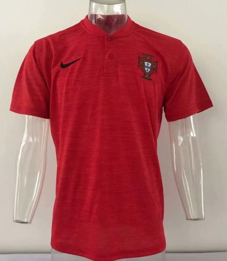 AAA Quality Portugal 2018 Red Polo shirts 2