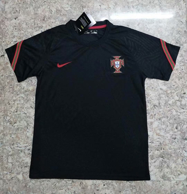AAA Quality Portugal 2020 Black Training Jersey