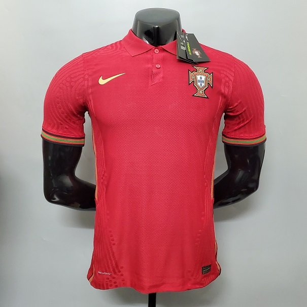 AAA Quality Portugal 2020 European Cup Home Jersey(Player)