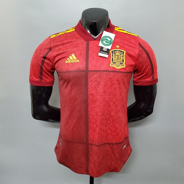 AAA Quality Spain 2020 European Cup Home Jersey(Player)