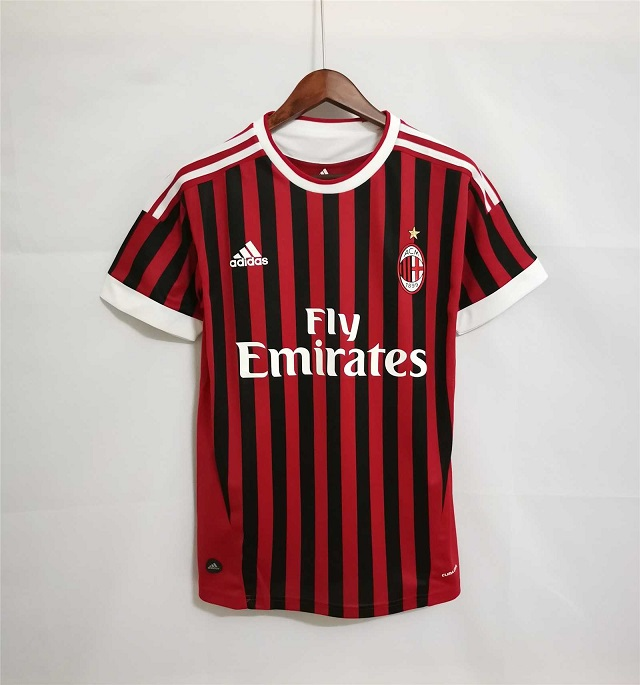 AAA Quality AC Milan 11/12 Home Soccer Jersey