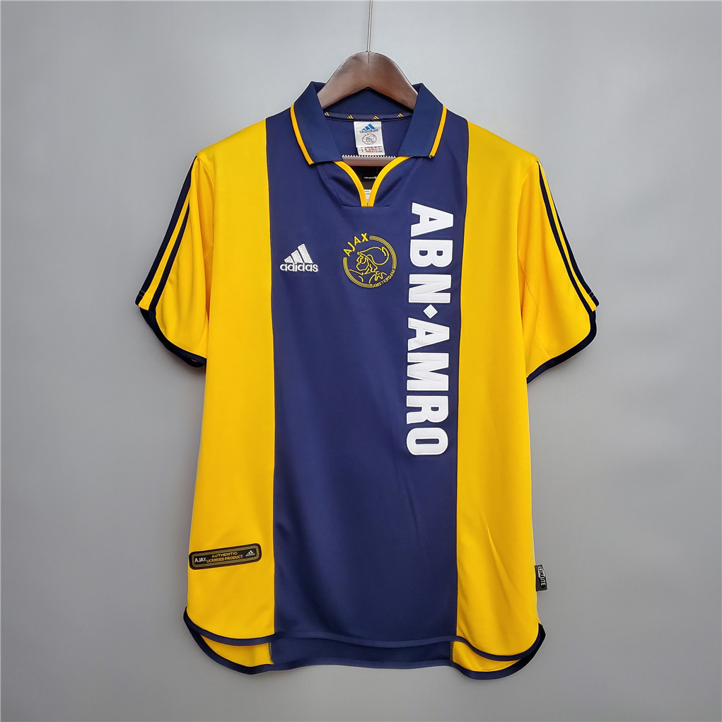 AAA Quality Ajax 00/01 Away Soccer Jersey