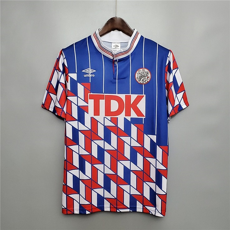 AAA Quality Ajax 90/91 Away Soccer Jersey