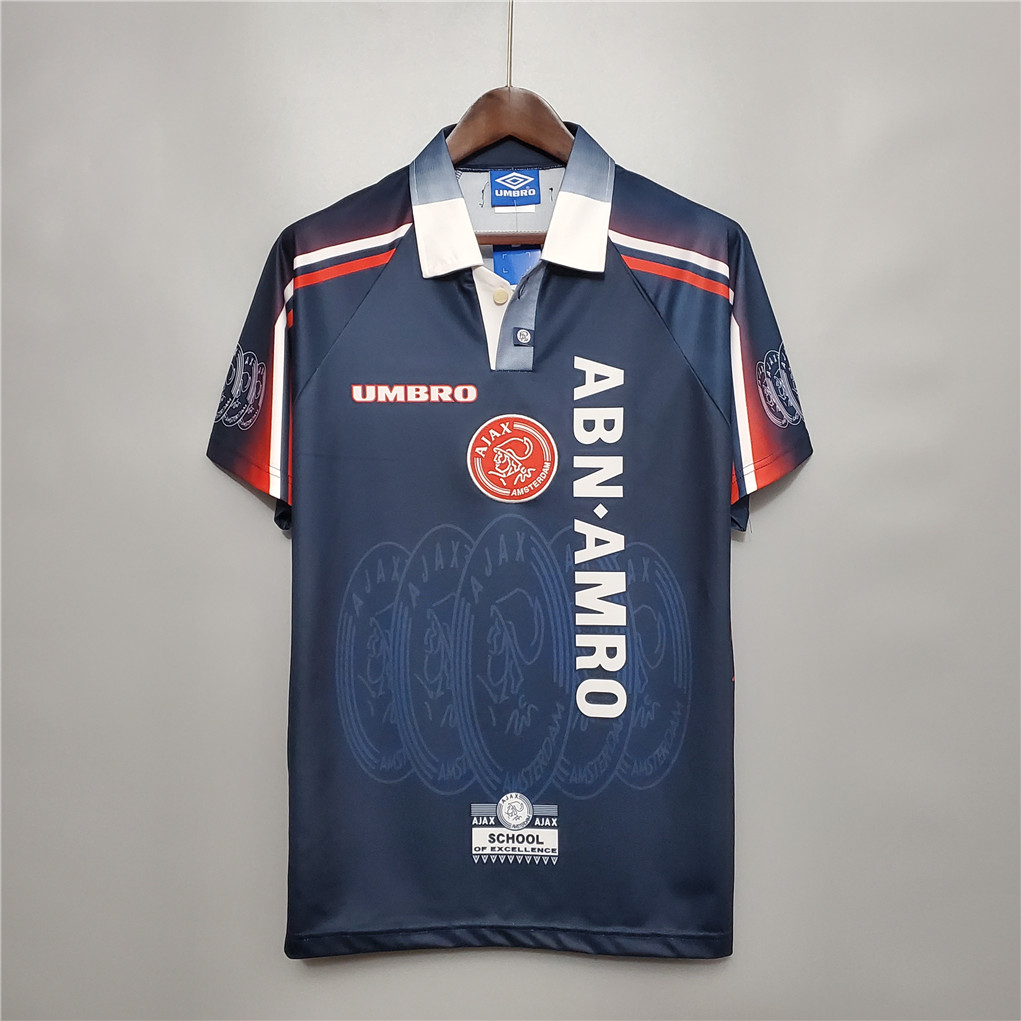 AAA Quality Ajax 97/98 Away Soccer Jersey