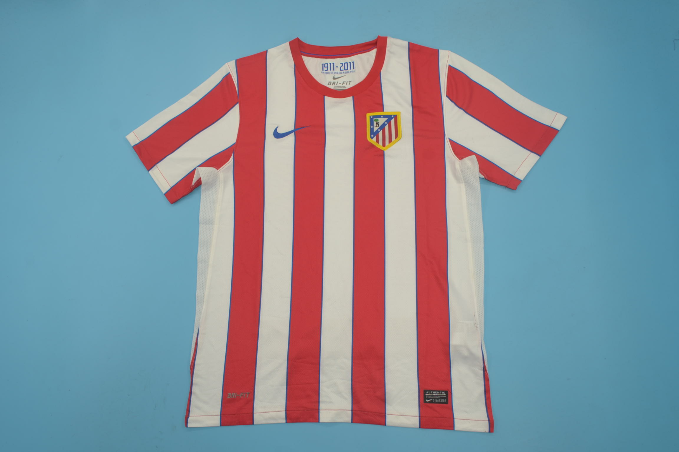 AAA Quality Atletico Madrid 11/12 Home Soccer Jersey
