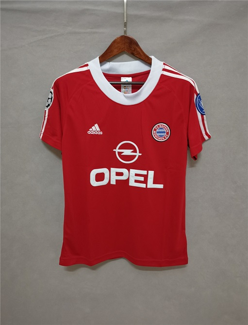 AAA Quality Bayern Munich 01/02 Home Soccer Jersey
