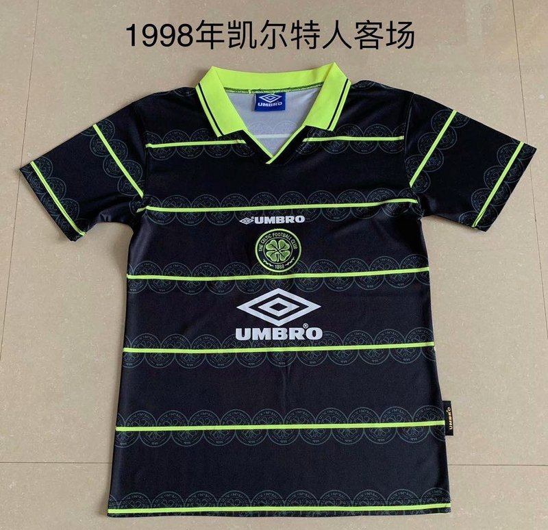 AAA Quality Celtic 97/98 Away Soccer Jersey