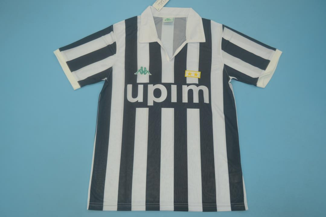AAA Quality Juventus 91/92 Home Soccer Jersey