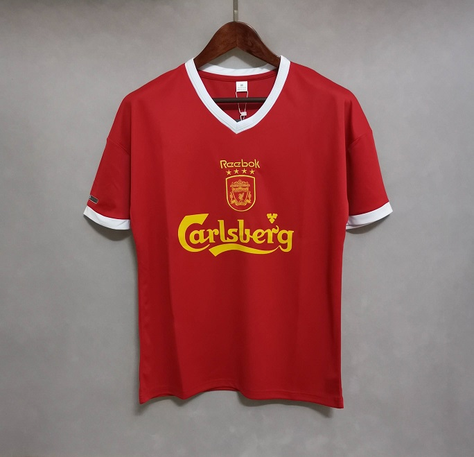 AAA Quality Liverpool 00/01 Home Soccer Jersey