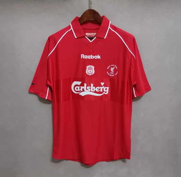 AAA Quality Liverpool 00/02 Home Soccer Jersey