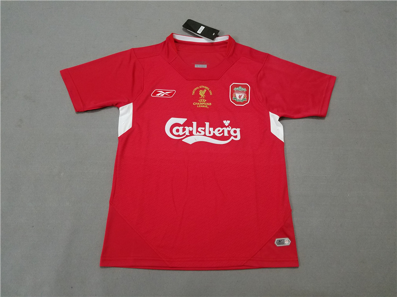 AAA Quality Liverpool 2005 UCL Home Soccer Jersey