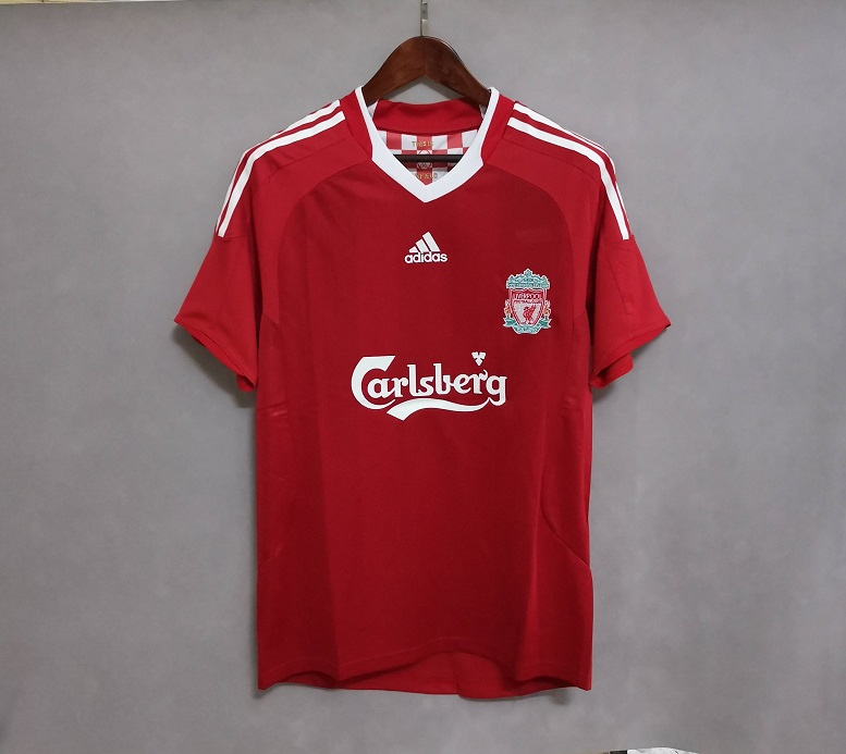 AAA Quality Liverpool 08/10 Home Soccer Jersey