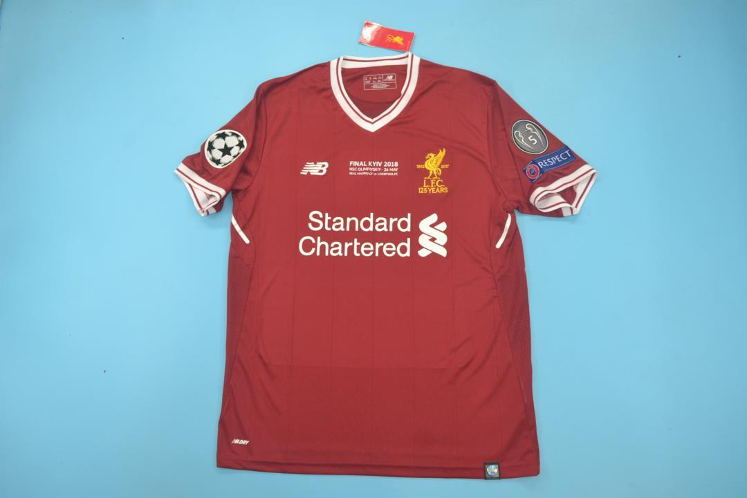 AAA Quality Liverpool 17/18 UCL Final Home Soccer Jersey