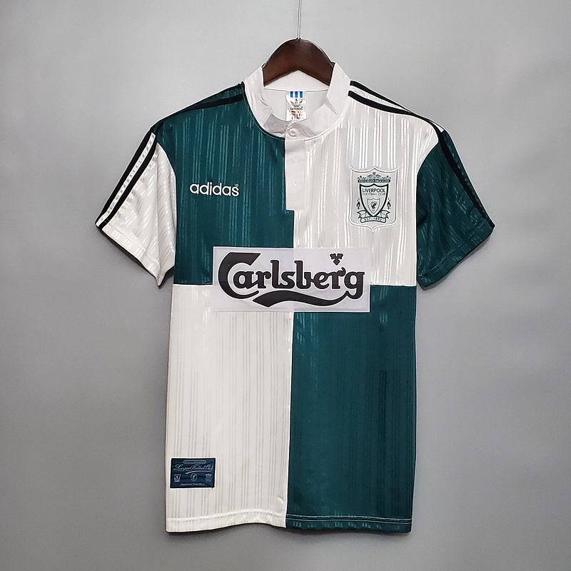 AAA Quality Liverpool 95/96 Away Soccer Jersey