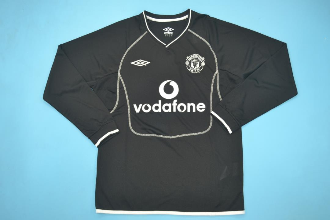 AAA Quality Manchester Utd 00/01 GK Black Long Jersey