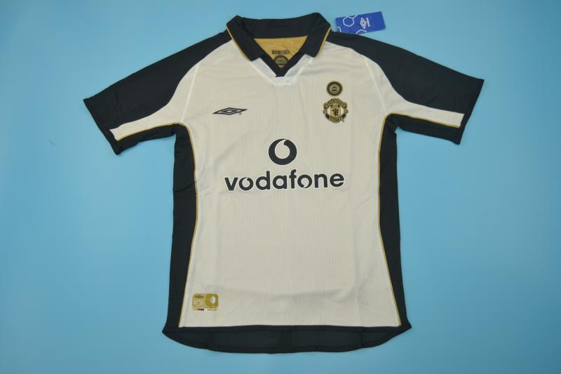 AAA Quality Manchester Utd 01/02 Away Soccer Jersey