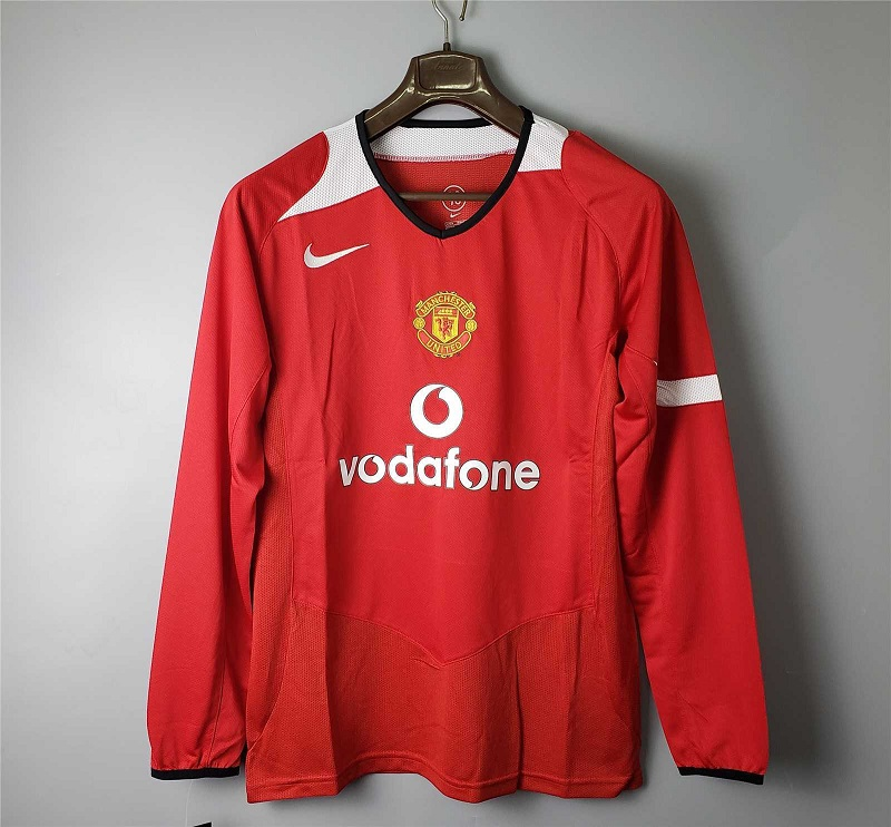 AAA Quality Manchester Utd 04/05 Home Long Jersey