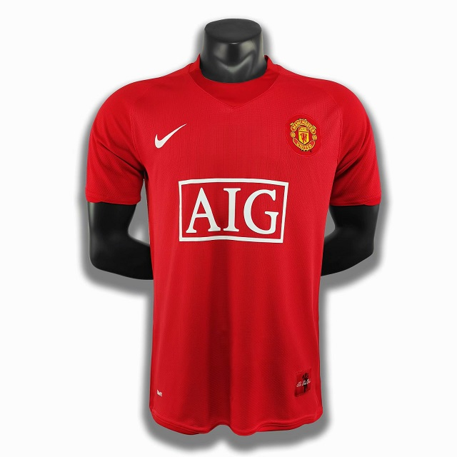 AAA Quality Manchester Utd 07/08 Home Soccer Jersey